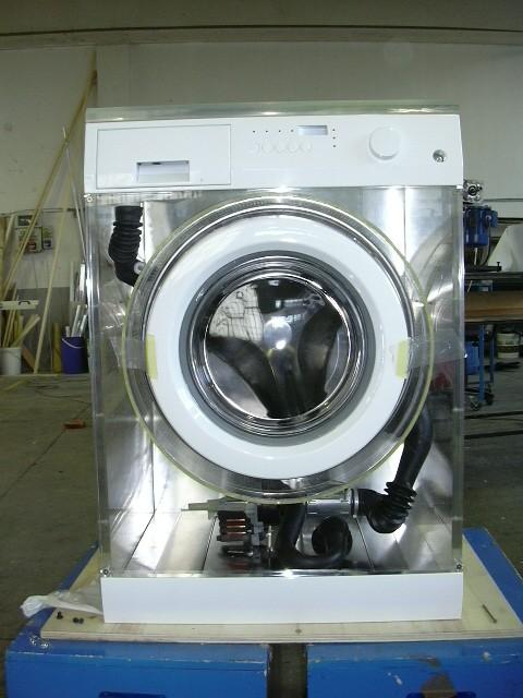 lavatrice trasparente